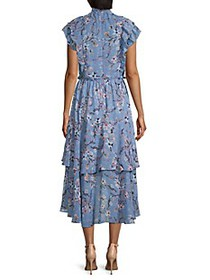 Walter Baker Jayda Ruffled Floral High-Low Dress