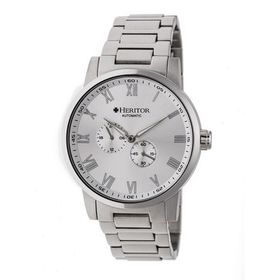 HeritorRomulus Automatic Silver Dial Men's Watch