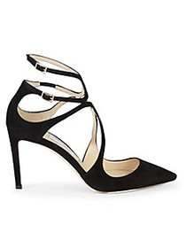 Jimmy Choo Lancer Suede Pumps