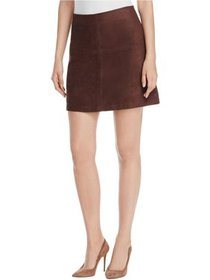 SANCTUARY Womens Brown Zippered Above The Knee A-L
