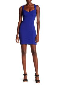 French Connection Lula Sweetheart Bodycon Dress
