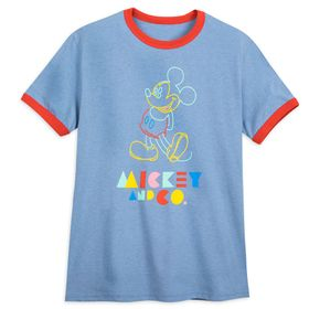 Disney Mickey & Co. Ringer T-Shirt for Adults – Mi