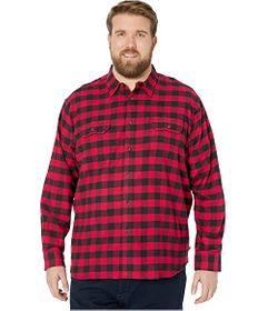 Dickies Big & Tall Long Sleeve Flex Flannel Shirt