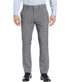 Kenneth Cole Reaction Stretch Grid Slim Fit Dress
