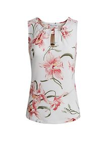 Floral Print Top - New York & Company