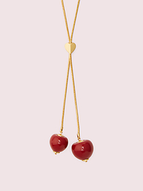 Kate Spade tutti fruity slider necklace