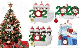 DIY Personalized Ornament 2020 Christmas Holiday D