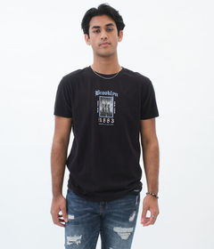 Aeropostale Brooklyn Bridge 1883 Graphic Tee