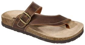 White Mountain Carly Leather Sandals for Ladies