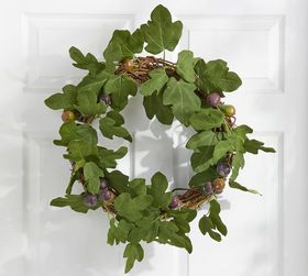 Pottery Barn Faux Fig Wreath