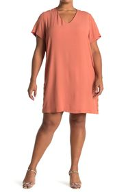 Madewell Side Button Easy Dress (Regular & Plus Si