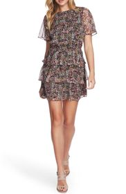 1.State Forest Gardens Short Sleeve Tiered Ruffle