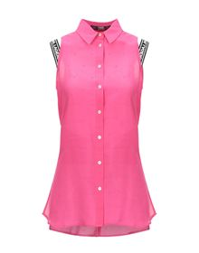 KARL LAGERFELD - Solid color shirts & blouses