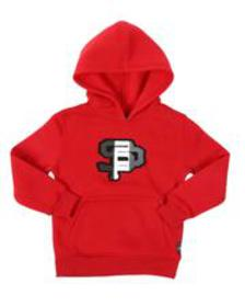 Southpole chenille fleece pullover hoodie (4-7)
