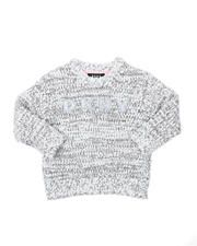 DKNY Jeans pullover boucle eyelash sweater (4-6x)