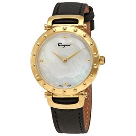 Salvatore FerragamoStyle Mother of Pearl Dial Ladi