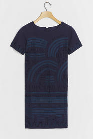 Anthropologie Rae Embroidered Shift Dress