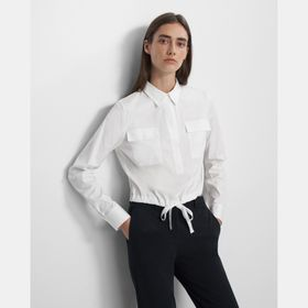 Utility Popover Shirt in Good Cotton