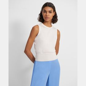 Shell Top in Silk-Cotton