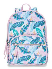No Boundaries Pastel Palms Double Gusset Backpack