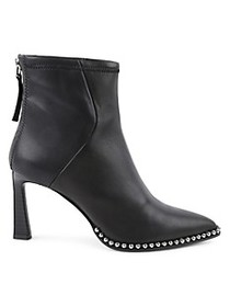 BCBGeneration Pointy-Toe Leather Booties