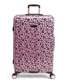 JUICY COUTURE 29in Jane Leopard Hardside Spinner