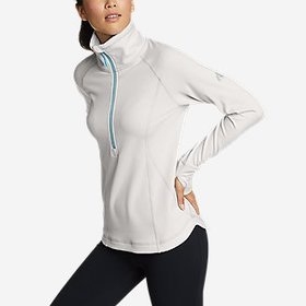 Women's High Route Grid Fleece 1/2-Zip