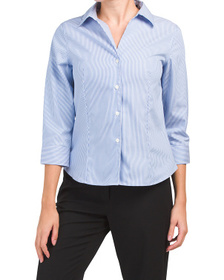 JONES NEW YORK SIGNATURE Non-iron Button Down Shir