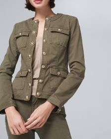 Button Military Jacket