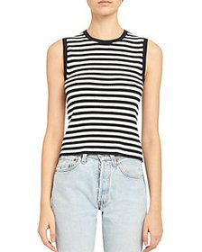 Theory - Gal Striped Ribbed Shell