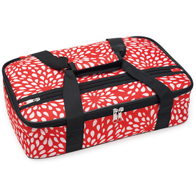 Home Essentials 16in. Rectangle Casserole Tote wit