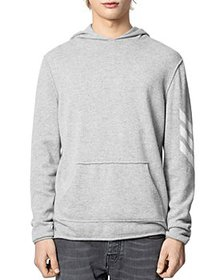 Zadig & Voltaire - Cashmere Hoodie With Intarsia S