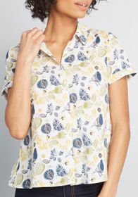 ModCloth ModCloth Inspired Idealist Button-Up Top