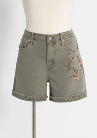 Driftwood Driftwood On the Grow Embroidered Shorts