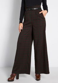 Collectif Collectif Business as Usual Wide-Leg Pan