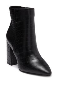 Charles David Virgil Embossed Faux Leather Boot