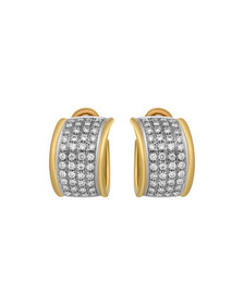 Estate Jewelry Estate Leo Pizzo 18k Two-Tone Diamo