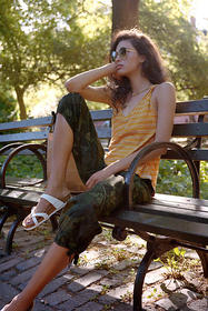 Anthropologie Blaise Knotted Tank
