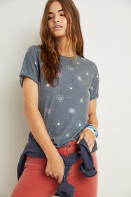 Anthropologie Twinkle Graphic Tee