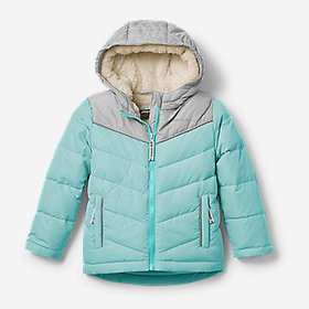 Toddler Girls' Classic Down Hooded Jacket