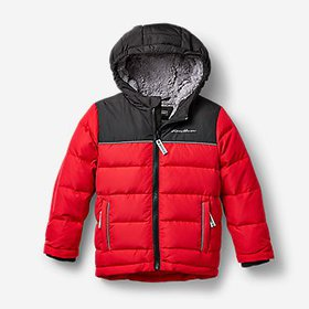 Toddler Boys' Classic Down Hooded Jacket