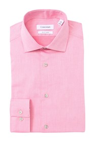 Calvin Klein Slim Fit Non-Iron Stretch Dress Shirt