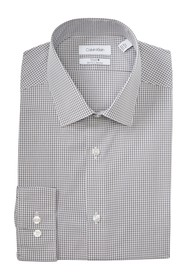 Calvin Klein Steel+ Slim Fit Non-Iron Dress Shirt
