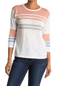 360 Cashmere Trinity 3/4 Sleeve Top