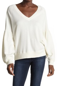 360 Cashmere Mabel Blouson Sleeve Sweater