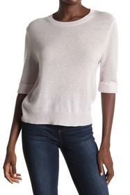 360 Cashmere Moselle Elbow Sleeve Cashmere Sweater