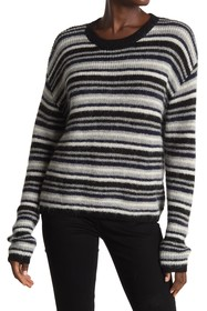 Line Piper Striped Long Sleeve Sweater