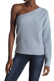 360 Cashmere Lena One Shoulder Cashmere Sweater
