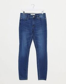 JDY jake regular skinny jeans in blue