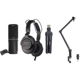 Zoom ZDM-1 Podcast Mic Kit with ZDM-1 Mic, Cable,